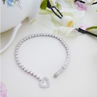 Penelope Heart Bracelet