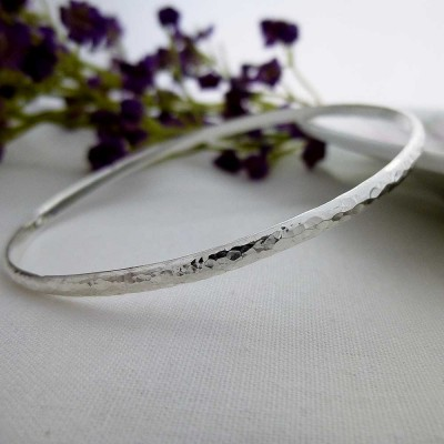 Georgia hammered slave bangle