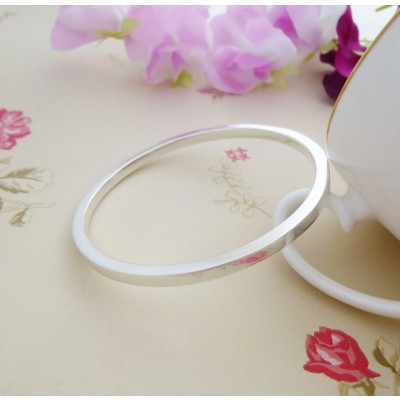 Antonia Square Section Bangle