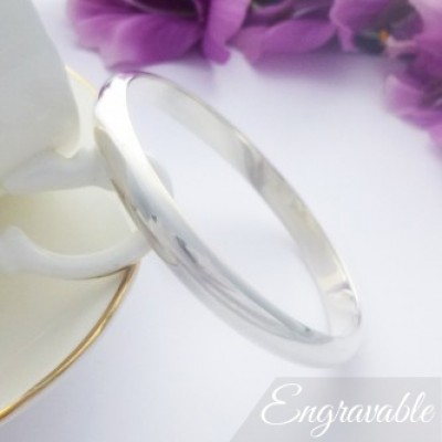 Arianna extra large engraved bangle