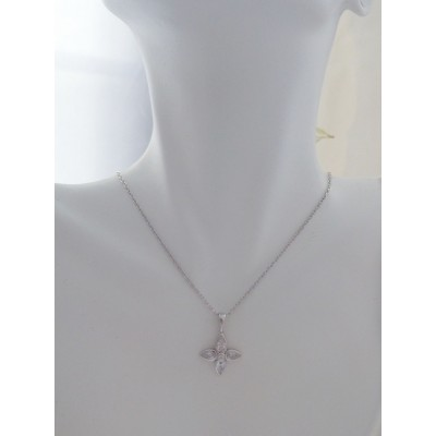 Georgini Blossom Flower Pendant Necklace