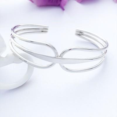 Etta 925 Sterling Silver Cuff