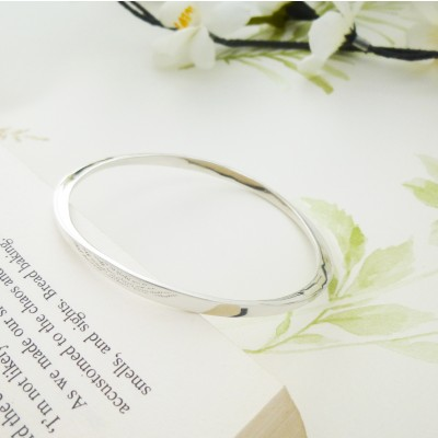 Kimberley silver bangle