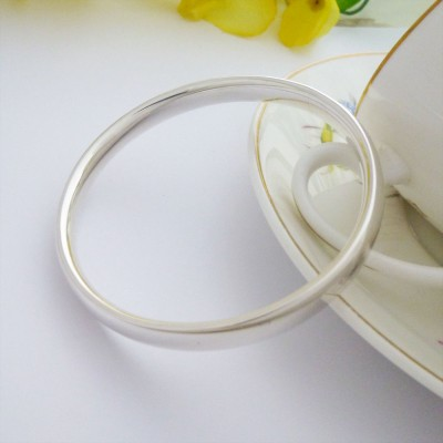Mya oval section bangle