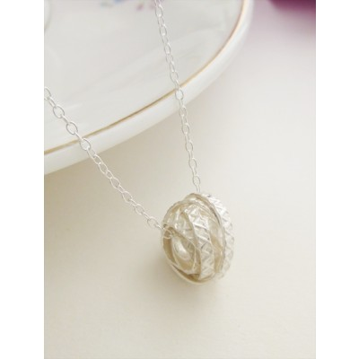 Georgia Square Nest Necklace