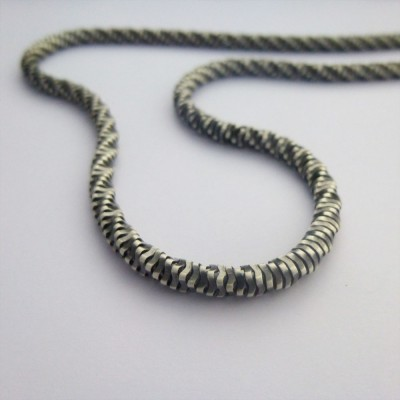 Perth Mens Oxidised Chain