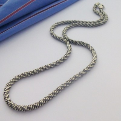 Perth Mens Oxidised Chain