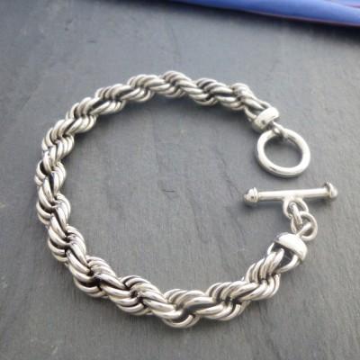 Men's Rope Bracelet Chain