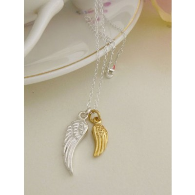 Rowan Wing Necklace
