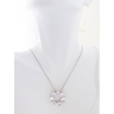 Georgini Skye Sparkling CZ Stone Necklace