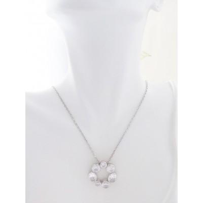Georgini Skye Sparkling CZ Stone Necklace