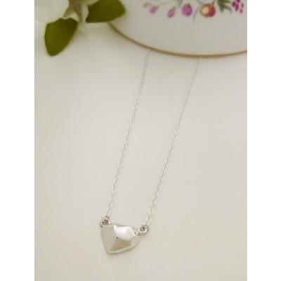 Victoria Silver Nugget Necklace