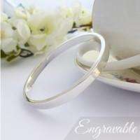 Anna Extra Small Bangle - Engraved