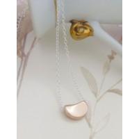 Ida Rose Gold Blob Necklace