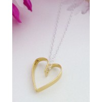 Tiffany Gold Heart Necklace