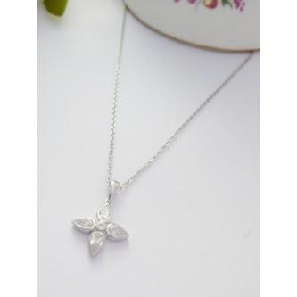 Georgini Blossom Flower Pendant Necklace