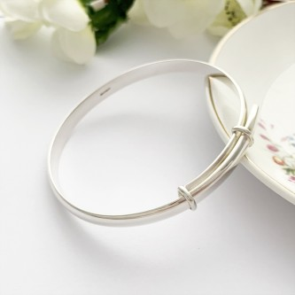 Ettie Silver Expander Bangle