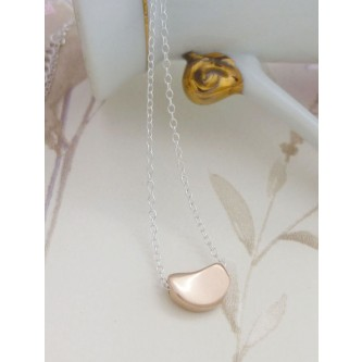 Ida Rose Gold Blob Necklace