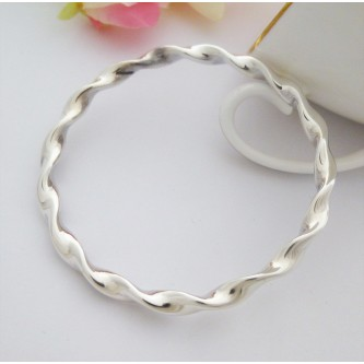 Large Silver Bangles for Ladies with Bigger Wrists e611842b06