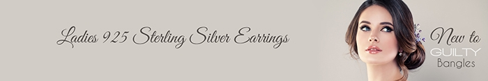 Guilty Sterling Silver Earrings Collection